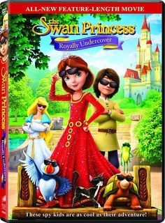 The Swan Princess: Royally Undercover (2017) – Watch free online full movie  When mysterious guests arrive within the Kingdom, aristocrat Alise, film producer and their friends go hush-hush on a secret spy journey to check if they'll be trustworthy . they'll want all of their superior detective skills furthermore as some super cool gadgets to resolve the royal mystery and save the dominion.