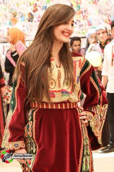 Palestinian dress .. Named the queen dress
