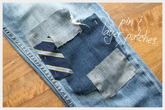 Patched Jeans DIY