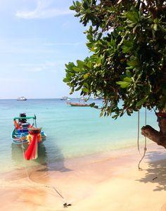 Sairee beach, Koh Tao, Thailand.