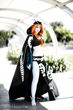 Midna (in her true form) from The Legend of Zelda: Twilight Princess Cosplayer: LolaInProgressPhotographer: fiathriel