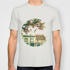 Inner Sunset Flower Trees T-shirt by Faern: Art and Photography - $18.00