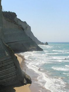 Peroulades beach, Corfu Islands, Greece