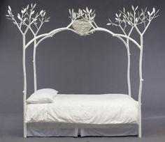 White Tree Bed