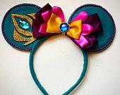 Custom Elsa Coronation Mouse Ears