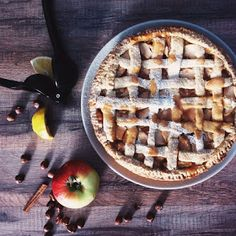 Now I'm craving apple pie, thanks to @nataliakhon's recipe of the week!