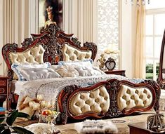 Brand Name: procareModel Number: Of Origin: FOSHANType: Bedroom FurnitureSpecific Use: Bedroom SetGeneral Use: Home Furniture Wooden Mantel, Wooden Fireplace, Fireplace Inserts, Royal Furniture, Bedroom Furniture Sets, Home Furniture, Cama Tatami, Cama Queen, Hipster Dorm
