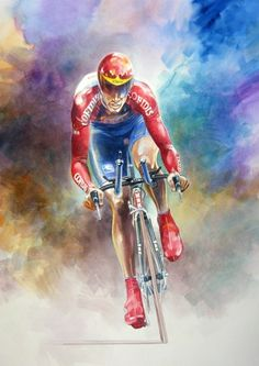 The Lean Machine - David Millar by Jeremy Mallard