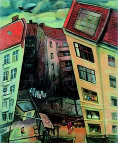 Hans Grundig - Vorstadtkind, 1932, Holzschnitt