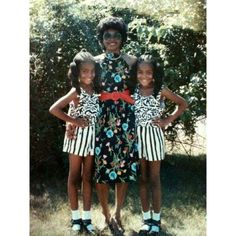 The Quann sisters as children with their mother.-Wmag