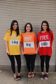 Little Reveal T-shirts, Sorority Big Little, Taco Bell shirts, Sorority Gifts, Big Little Gifts Big Little Reveal T-shirts Schwesternschaft Big Little Taco Bell Cute Group Halloween Costumes, Cute Costumes, Halloween Outfits, Trio Costumes, Dynamic Duo Costumes, M&m Costume Diy, Bff Costume Ideas, Costume Ideas For Groups, Costumes For 3 People