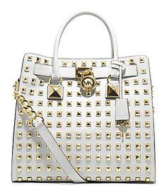 Love it to death-MICHAEL Michael Kors Studded Hamilton Tote Bag