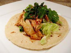 Food Truck Recipes: Korean Chicken Tacos