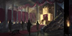 Throne Room by Nyra119 on DeviantArt