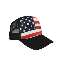 7bd8f57ea0b USA Flag of July Patriotic Mesh Foam 5 Panel Adjustable Snapback Trucker  Cap Hat - 4 Colors - Men and Women - American Style Cap by TopCrownClothing  on Etsy
