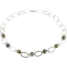"#67880, #Tahitian #Cultured #Pearl 19"" #Necklace, Nathalie's Jeweler"