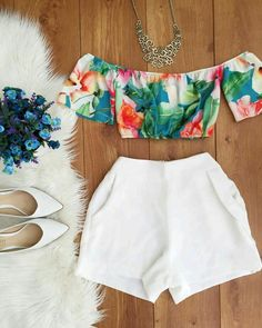 No sé!!!! New Outfits, Cool Outfits, Casual Outfits, Fashion Outfits, Cute Summer Outfits For Teens, Pretty Outfits, Mode Rock, Black Leather Mini Skirt, Two Piece Outfit