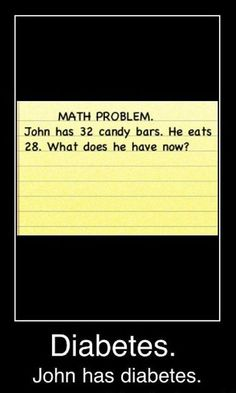 "Hahaha!!!  I actually said to myself ""4, he has 4 candy bars.  What's so funny?""  Then I scrolled down.  HAHA"