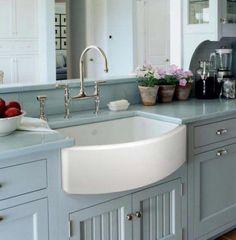 14 Astounding White Apron Kitchen Sink Snapshot Idea