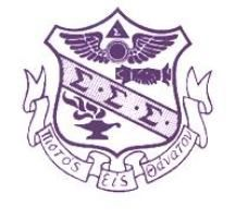 The colors of Tri Sigma are royal purple and pure white.