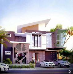 Proposed 2 Story Modern Residential House How Do You Like It