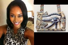 Yoga Enthusiast Creates Kemetic Yoga Mat Line to Give Blacks a 'Beautiful Vision' of Themselves