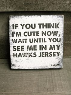 Vintage hockey sign, sports team wall art, baby boy art, baby boy gift, nursery art
