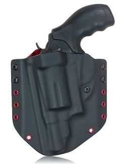 Trojan concealment kydex gun holster with a Smith & Wesson Governor. www.zornholsters.com