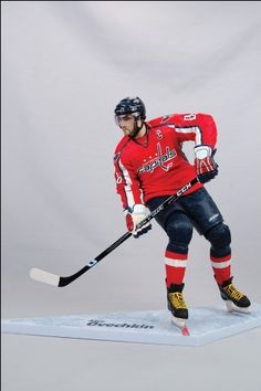 McFarlane Toys NHL Sports Picks 12 Inch Action Figure Alexander Ovechkin (Washington Capitals) by McFarlane Toys. Save 52 Off!. $24.99. Name: Alexander Ovechkin Category: NHL Hockey Series: Deluxe Series Manufacturer: McFarlane Type: Action Figure Size: 12 Inch Packaging: Window Box Description: NHL Hockey 12 Inch Action Figure Deluxe Series - Alexander Ovechkin Red Jersey