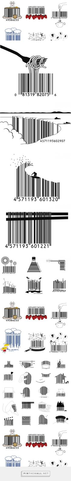 UCreative.com - These Japanese Barcodes Are So Kawaii! | UCreative.com - created on 2015-10-08 13:46:05