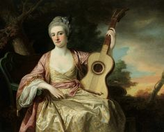 1765 Maria Walpole, Countess Waldegrave, Later H.R.H. Duchess of Gloucester and Edinburgh by Francis Cotes