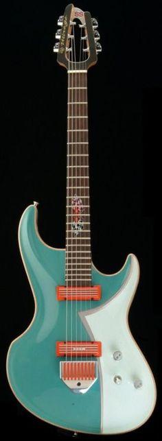 MJ Mirage Chevy Guitar Lardys Chordophone of the day 2017 --- https://www.pinterest.com/lardyfatboy/ Confira aqui http://mundodemusicas.com/lojas-instrumentos/ as melhores lojas online de Instrumentos Musicais.