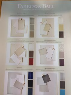 Farrow and Ball paint in stock in store and online. Room Colors, House Colors, Paint Colors, Colours, Farrow And Ball Paint, Farrow Ball, Decorating Tips, Mood Boards, Color Inspiration