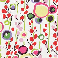 Alexander Henry House Designer - Monkeys Bizness - Market Floral in Bright.love this fabric Textile Pattern Design, Surface Pattern Design, Textile Patterns, Pattern Art, Fabric Design, Textiles, Retro Fabric, Pretty Patterns, Pattern Illustration