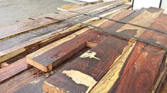 Fresh load of dimensional Cocobolo arrived on Friday ~ 4/4 - 16/4 boards and billets. Gorgeous color!  Hearne Hardwoods Inc.
