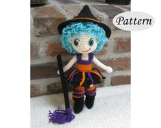 Hey, I found this really awesome Etsy listing at https://www.etsy.com/au/listing/246848015/pattern-witch-amigurumi-crochet-doll