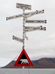 Svalbard finns med på listan över resmål jag vill åka till!