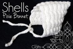 Kit's Crafts - Shells Pixie Bonnet Free Pattern