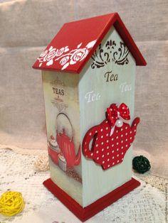 Купить Чайный домик ДУШЕВНОЕ ЧАЕПИТИЕ, чайный домик декупаж ...