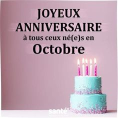 Happy birthday for everyone born in October 🙂 Happy Birthday In French, D Avila, Good Day Quotes, French Quotes, Instagram Posts, Desserts, Albert Camus, Led Flashlight, Patience
