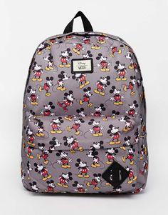 Image 1 - Vans x Disney - Sac à dos motif Mickey Mouse