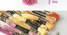 I& got a fun, easy project for you today, making mini tassels from embroidery floss! These little guys are so cute and versatile, . Graduation Cards Handmade, Graduation Crafts, Diy Embroidery Floss Tassel, Diy Tassel Earrings, How To Make Tassels, Diy Bracelets Easy, Love Sewing, Yarn Crafts, Crochet Projects