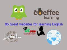 الشامل التعليمي: أفضل 6 مواقع لتعلم اللغة الإنجليزية Great Websites, Learn English, Learning, Fictional Characters, Learning English, Studying, Teaching, Fantasy Characters, Education