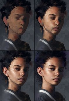 21 Digital Painting Process Pictures (Step-By-Step) - Paintable painting portrait step by step How To Paint These 21 Digital Portraits (Step-By-Step) Painting Process, Process Art, Painting & Drawing, Drawing Tips, Acrylic Portrait Painting, Drawing Drawing, Matte Painting, Painting Abstract, Painting Classes