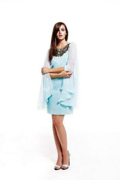 Vestido azul de Matilde Cano - http://www.bodas.net/cat-DressList.php?tipo=2&Disenador=43