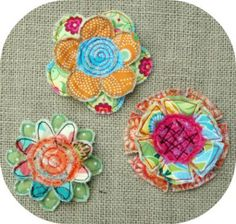 In The Hoop - Flowers - Frayed & Layered Flowers - Embroidery Garden (Powered by CubeCart)