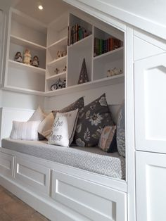 Here we opened up the space to create a six drawer storage unit with reading noo Understairs Storage create drawer noo opened reading Space storage Unit Staircase Storage, Hallway Storage, Stair Storage, Drawer Storage, Hidden Storage, Staircase Design, Closet Storage, Stairs In Living Room, House Stairs