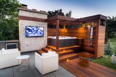 50 Pergola Design Ideas to Enhance your Patio this Summer Casa Patio, Patio Privacy, Deck With Pergola, Wooden Pergola, Covered Pergola, Backyard Pergola, Pergola Kits, Pergola Ideas, Building A Pergola