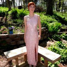 Uma adolescente fez um vestido com 4 mil lacred de latinha. E você pode ver o resultado clicando na imagem