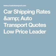 Shipping Quote Fascinating Our Car Shipping Quote Calculator Are Among The Most Competitive Of .